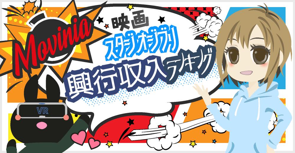 スタジオジブリ平成の全作品まとめ!総選挙&興行収入ランキング