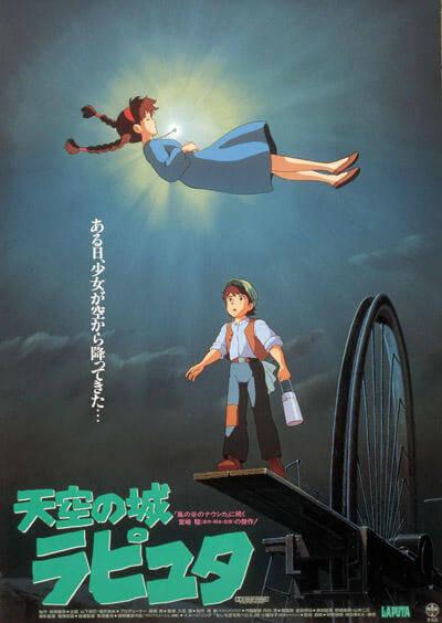 21位:天空の城ラピュタ (1986) 興行収入5.8億円